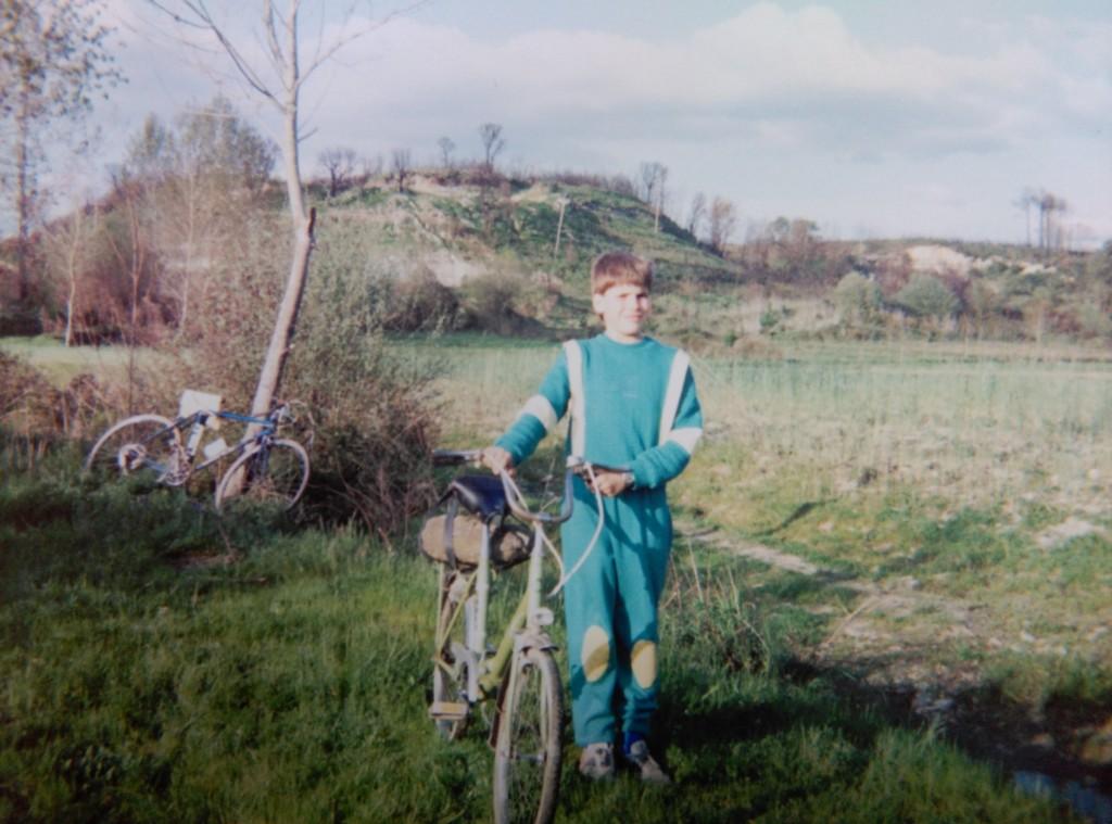 O castro de San Lourenzo en 1987