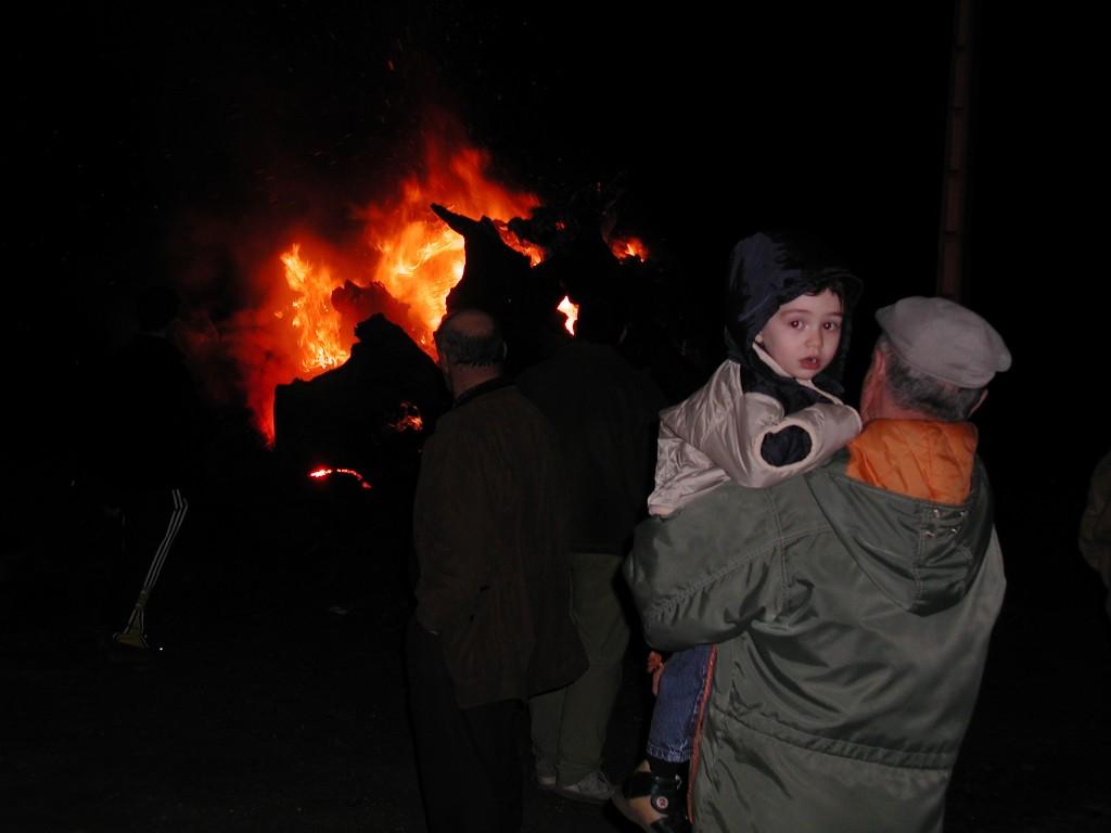 Noite dos Cepos. Ano 2003.
