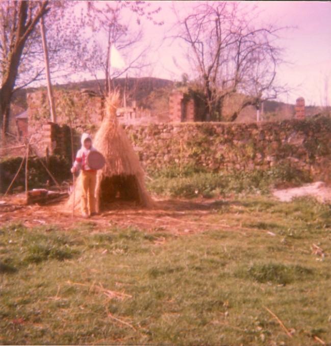 A parrocha feita polo Corenta na aira da Ponte en 1985.
