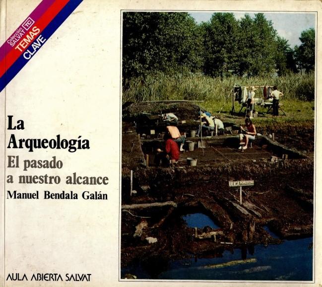 Libro clásico de divulgación da arqueoloxía, edición de 1985.